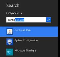 JavaConfigure